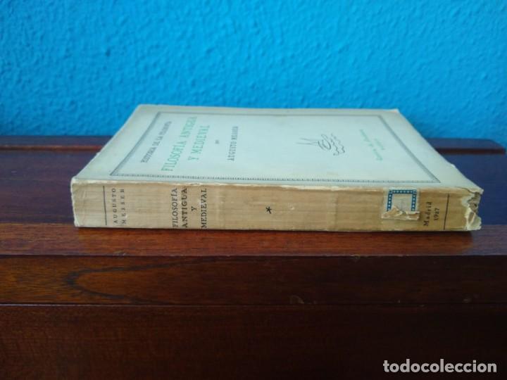 Libros antiguos: FILOSOFÍA ANTIGUA Y MEDIEVAL - AUGUSTO MESSER - REVISTA DE OCCIDENTE - MADRID (1927) - Foto 3 - 168181952