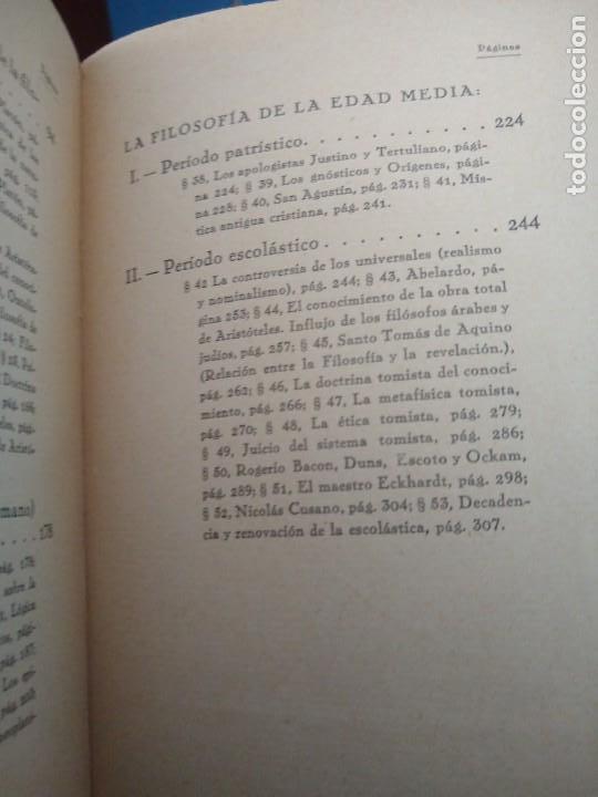 Libros antiguos: FILOSOFÍA ANTIGUA Y MEDIEVAL - AUGUSTO MESSER - REVISTA DE OCCIDENTE - MADRID (1927) - Foto 6 - 168181952