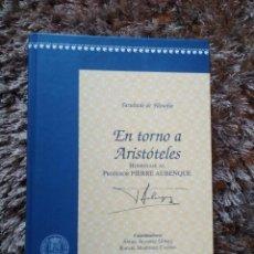 Libros antiguos: EN TORNO A ARISTÓTELES. Lote 169019572