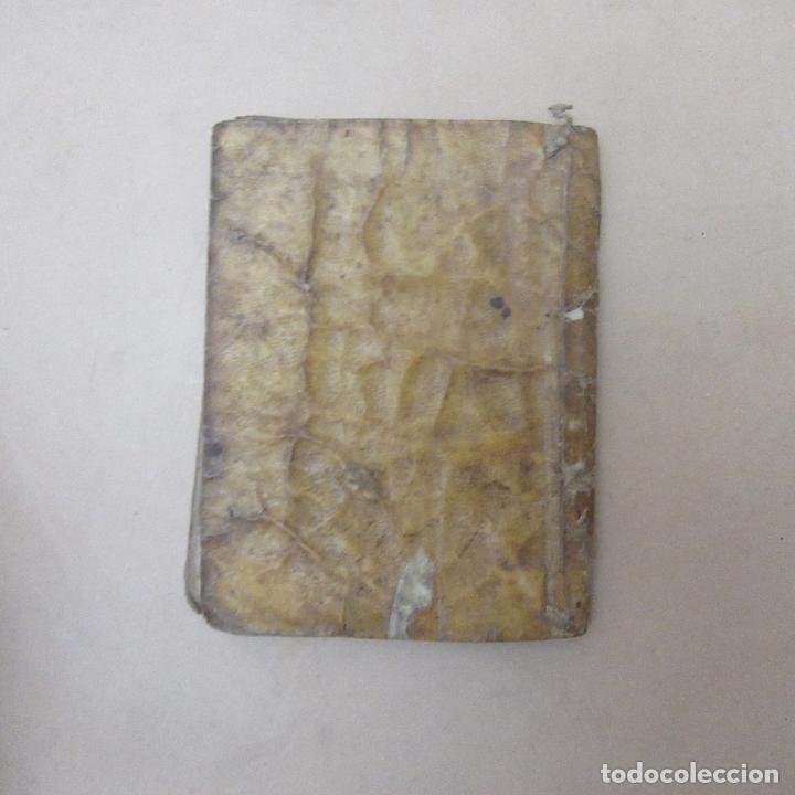 Libros antiguos: Pequeño libro siglo XVII 1682 filosofía del verdadero cristiano - Foto 8 - 169190580