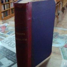 Libros antiguos: FILOSOFÍA ELEMENTAL (FILOSOFÍA CRISTIANA). 2 VOLS. TOMO 1 . FR. ZEFERINO GONZALEZ, 1881. Lote 169601488