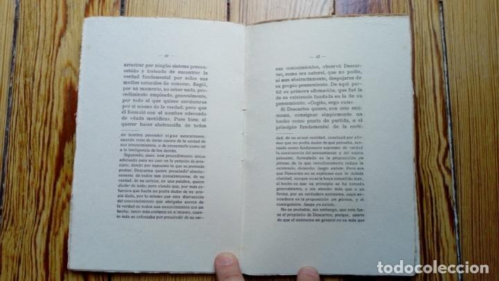 Libros antiguos: EL PRINCIPIO OBJETIVO DE CERTIDUMBRE DE AYUSA MADRID 1920 86 PÁGINAS FILOSOFÍA - Foto 2 - 170946890
