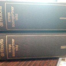 Libros antiguos: CONCEPTOS FUNDAMENTALES DE FILOSOFIA.KRINGS BAUMGARTNER WILD. ABSOLUTO ESPACIO. ESPECULACION ORDEN.. Lote 171298254