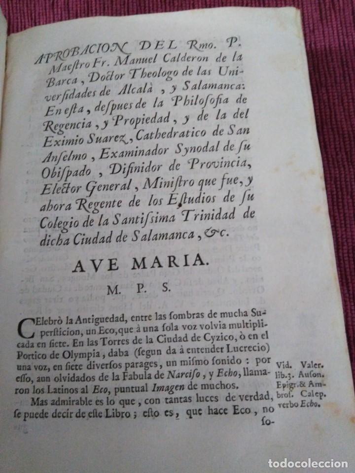 Libros antiguos: 1759. Feyjoo. Theatro crítico universal. Tomo octavo. Demoníacos agricultura paradoxas sofismas - Foto 3 - 171987559