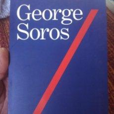 Libros antiguos: GEORGE SOROS MI FILOSOFÍA. Lote 172098540