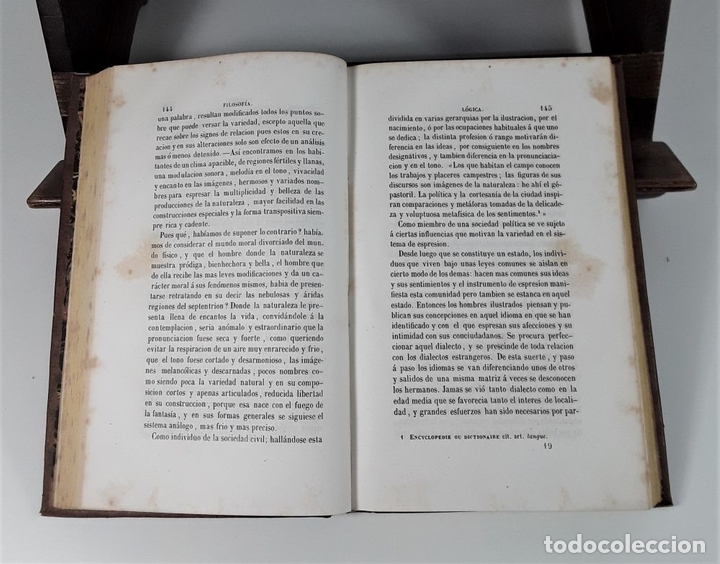 Libros antiguos: CURSO DE FILOSOFÍA. MIGUEL SURIS Y BASTER. LIBRERIA DE PIFERRER. BARCELONA. 1847. - Foto 5 - 172220142