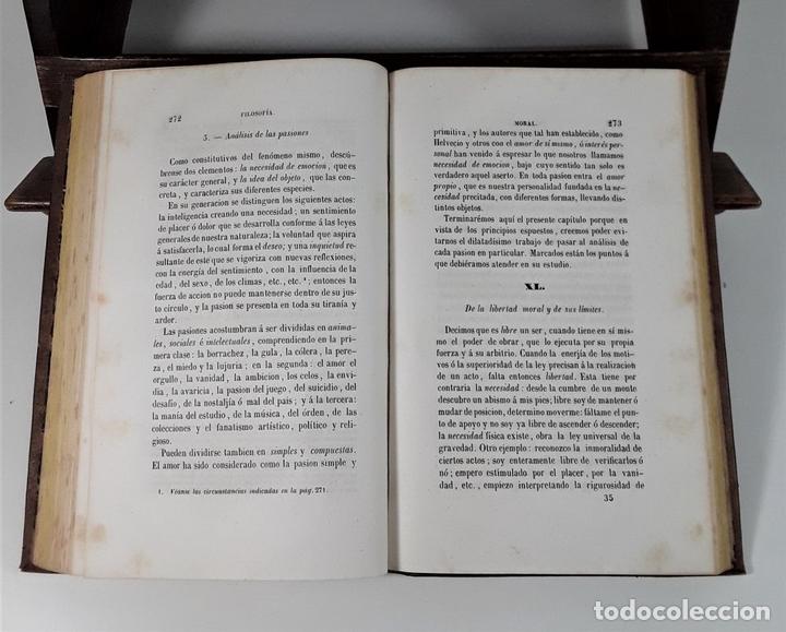 Libros antiguos: CURSO DE FILOSOFÍA. MIGUEL SURIS Y BASTER. LIBRERIA DE PIFERRER. BARCELONA. 1847. - Foto 6 - 172220142