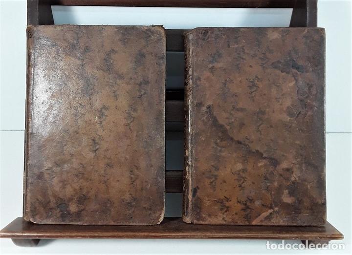 Libros antiguos: LA FILOSOFÍA MORAL DECLARADA Y PROPUESTA A LA JUVENTUD. TOMOS I Y II. MADRID.1780. - Foto 3 - 172282254