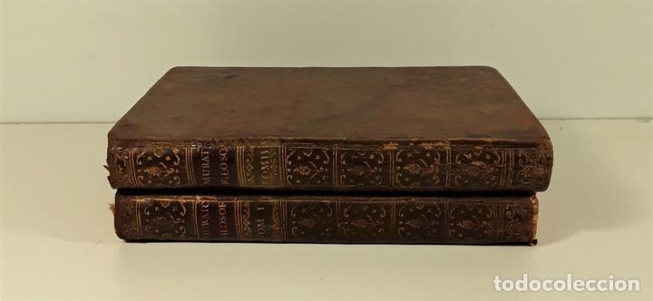 LA FILOSOFÍA MORAL DECLARADA Y PROPUESTA A LA JUVENTUD. TOMOS I Y II. MADRID.1780. (Libros Antiguos, Raros y Curiosos - Pensamiento - Filosofía)