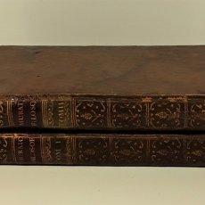Libri antichi: LA FILOSOFÍA MORAL DECLARADA Y PROPUESTA A LA JUVENTUD. TOMOS I Y II. MADRID.1780.. Lote 172282254