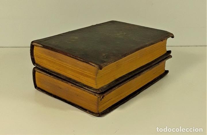 Libros antiguos: INSTITUTIONUM ELEMENTARIUM. 2 TOMOS. A. DE GUEVARA ET BASOAZABAL. 1825/27. - Foto 2 - 172288704