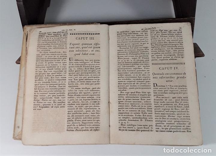 Libros antiguos: PHILOSOPHIA SANCTI THOMA AQUINATIS. TOMO II. TIP. MICHAELIS BURGOS. MADRID. 1825. - Foto 5 - 172611670