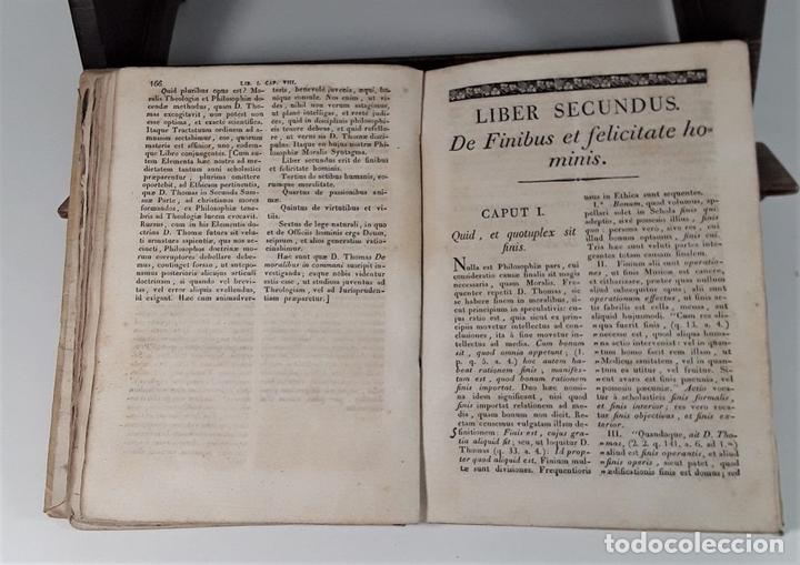 Libros antiguos: PHILOSOPHIA SANCTI THOMA AQUINATIS. TOMO II. TIP. MICHAELIS BURGOS. MADRID. 1825. - Foto 6 - 172611670