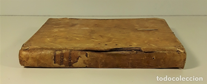 PHILOSOPHIA SANCTI THOMA AQUINATIS. TOMO II. TIP. MICHAELIS BURGOS. MADRID. 1825. (Libros Antiguos, Raros y Curiosos - Pensamiento - Filosofía)