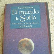 Libros antiguos: LIBRO DE JOSTEIN GAARDER ,EL MUNDO DE SOFIA EDICION CIRCULO DE LECTORES. Lote 172842528
