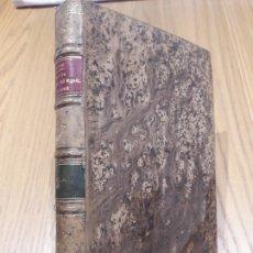 Livres anciens: RAPPORTS DU PHYSIQUE ET DU MORAL DE LHOMME. VICTOR MASON, 1867. TOME SECOND. 424P. RARE. Lote 172986484
