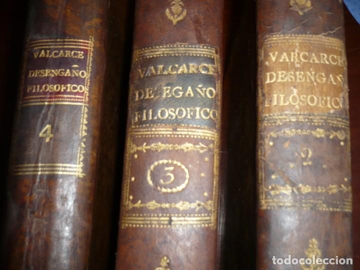 Libros antiguos: 3/4 DESENGAÑOS FILOSOFICOS QUE EN OBSEQUIO VICENTEFERNANDEZ VALCARZE1788-90-97 MADRID - Foto 24 - 173662630