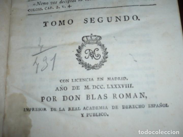 Libros antiguos: 3/4 DESENGAÑOS FILOSOFICOS QUE EN OBSEQUIO VICENTEFERNANDEZ VALCARZE1788-90-97 MADRID - Foto 4 - 173662630