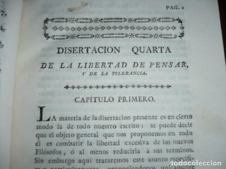 Libros antiguos: 3/4 DESENGAÑOS FILOSOFICOS QUE EN OBSEQUIO VICENTEFERNANDEZ VALCARZE1788-90-97 MADRID - Foto 5 - 173662630