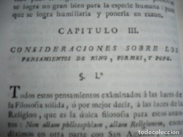 Libros antiguos: 3/4 DESENGAÑOS FILOSOFICOS QUE EN OBSEQUIO VICENTEFERNANDEZ VALCARZE1788-90-97 MADRID - Foto 6 - 173662630