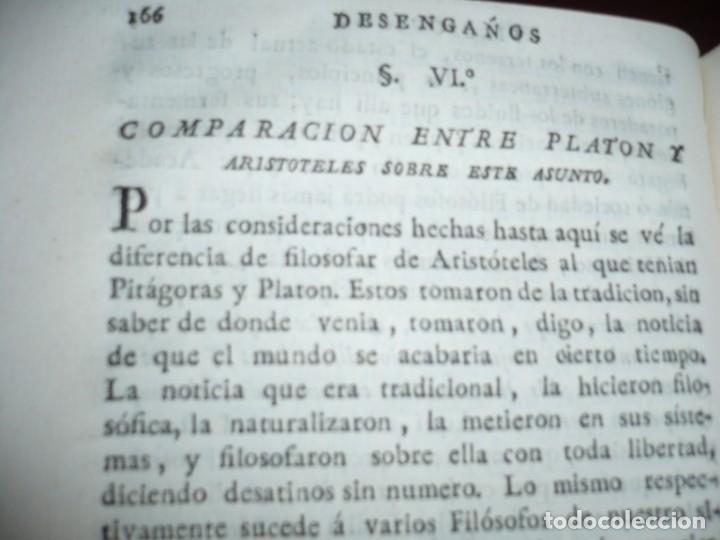 Libros antiguos: 3/4 DESENGAÑOS FILOSOFICOS QUE EN OBSEQUIO VICENTEFERNANDEZ VALCARZE1788-90-97 MADRID - Foto 9 - 173662630