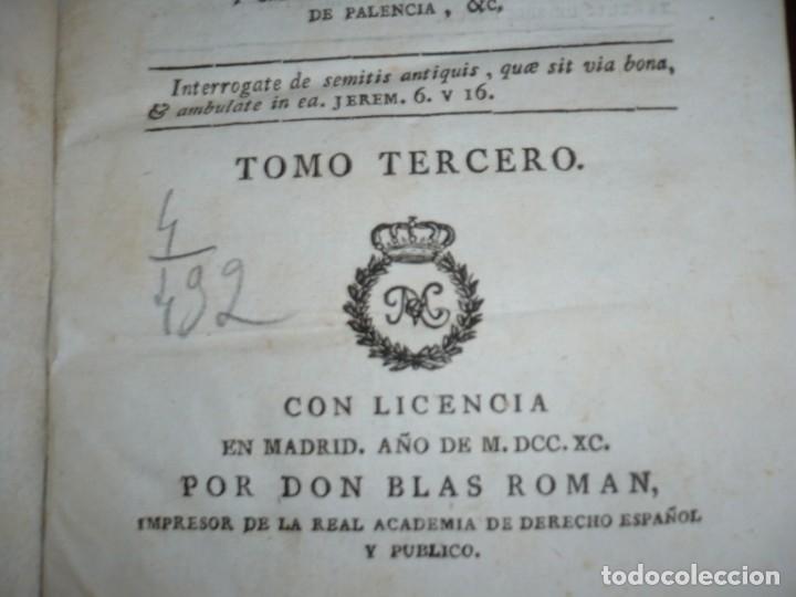 Libros antiguos: 3/4 DESENGAÑOS FILOSOFICOS QUE EN OBSEQUIO VICENTEFERNANDEZ VALCARZE1788-90-97 MADRID - Foto 12 - 173662630