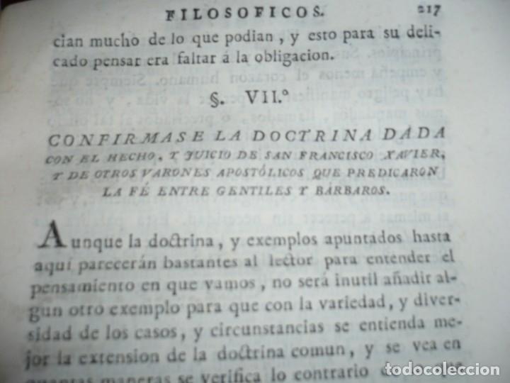Libros antiguos: 3/4 DESENGAÑOS FILOSOFICOS QUE EN OBSEQUIO VICENTEFERNANDEZ VALCARZE1788-90-97 MADRID - Foto 14 - 173662630