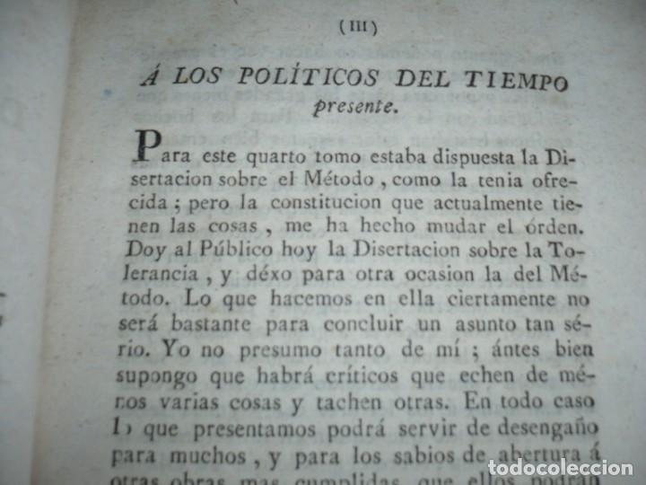 Libros antiguos: 3/4 DESENGAÑOS FILOSOFICOS QUE EN OBSEQUIO VICENTEFERNANDEZ VALCARZE1788-90-97 MADRID - Foto 19 - 173662630