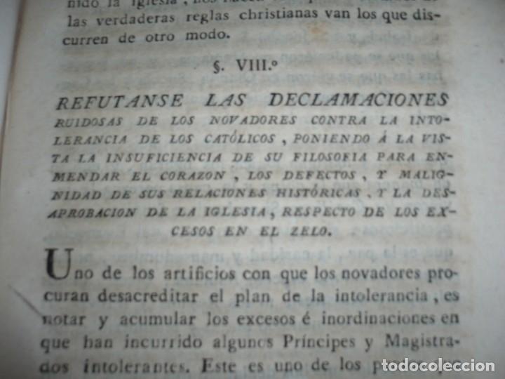 Libros antiguos: 3/4 DESENGAÑOS FILOSOFICOS QUE EN OBSEQUIO VICENTEFERNANDEZ VALCARZE1788-90-97 MADRID - Foto 22 - 173662630