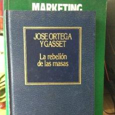Libri antichi: LA REBELIÓN DE LAS MASAS - ORTEGA Y GASSET,JOSÉ. Lote 174149704