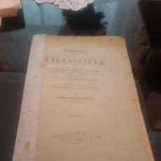 Libros antiguos: CURSO DE FILOSOFÍA LUIS MARÍA ELEIZALDE 1918. Lote 174150485