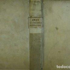 Libros antiguos: AMAT, FÉLIX. INSTITUTIONES PHILOSOPHIAE AD USUM SEMINARII EPISCOPALIS BARCINONENSIS. 1832.. Lote 174903460