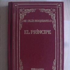 Libri antichi: EL PRINCIPE - NICOLAS MAQUIAVELO - BIBLIOTECA DE LOS GRANDES PENSADORES. Lote 175170732