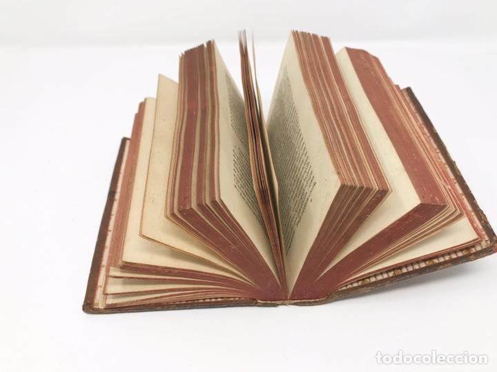 Libros antiguos: Ciceronis Epistolarum 1563, Siglo XVI, 17cmx11'5cmx5cm, 441 páginas, antiguo, excelente condición - Foto 13 - 176148134