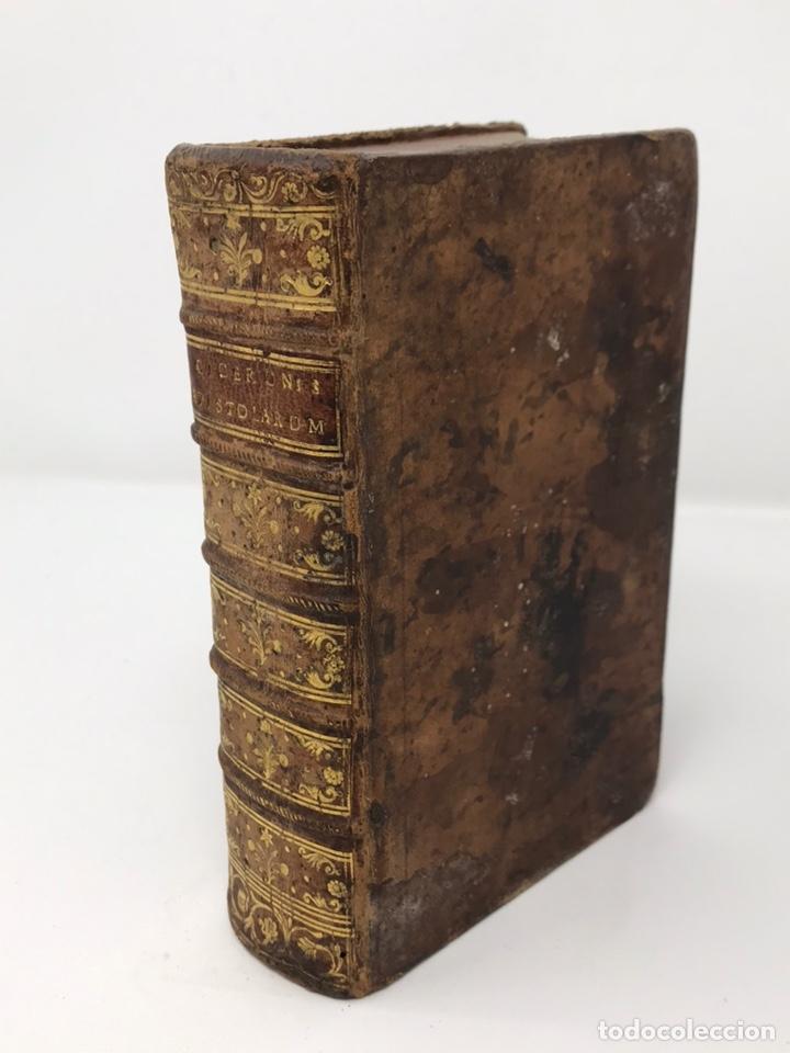 Libros antiguos: Ciceronis Epistolarum 1563, Siglo XVI, 17cmx11'5cmx5cm, 441 páginas, antiguo, excelente condición - Foto 27 - 176148134