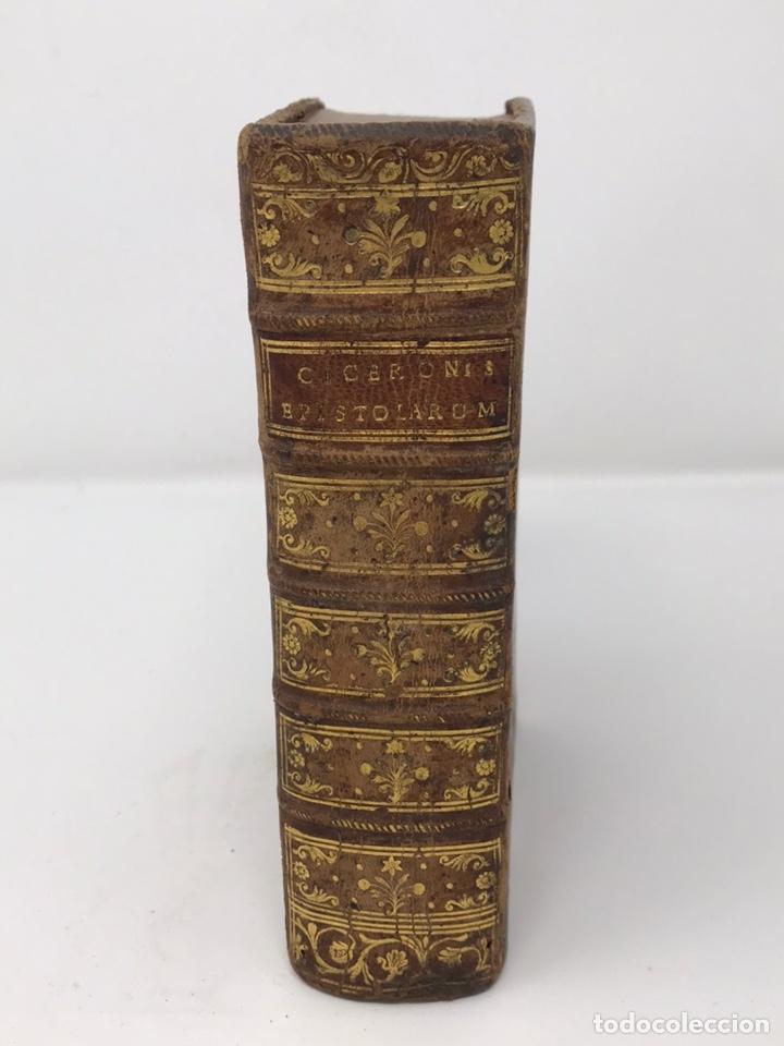 Libros antiguos: Ciceronis Epistolarum 1563, Siglo XVI, 17cmx11'5cmx5cm, 441 páginas, antiguo, excelente condición - Foto 28 - 176148134