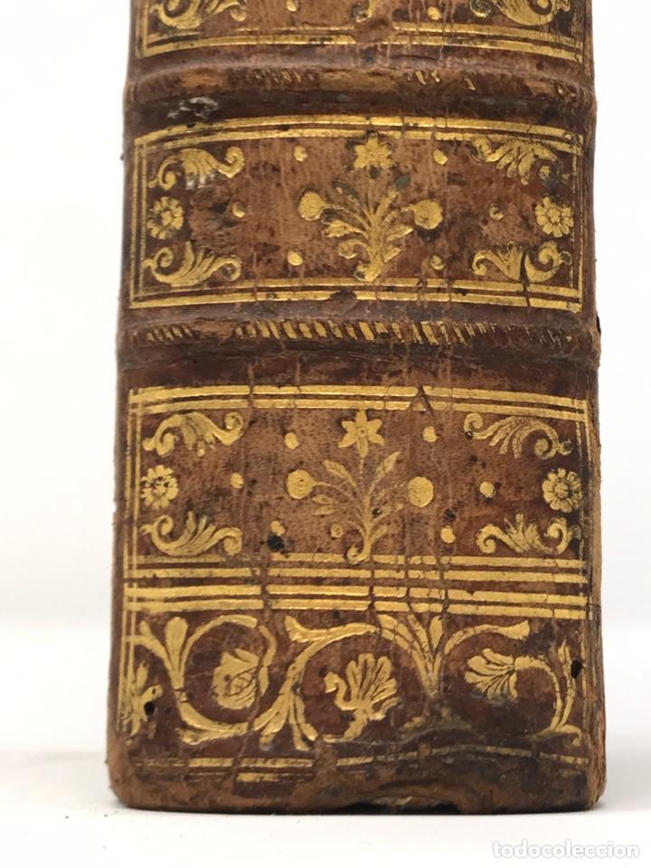 Libros antiguos: Ciceronis Epistolarum 1563, Siglo XVI, 17cmx11'5cmx5cm, 441 páginas, antiguo, excelente condición - Foto 30 - 176148134