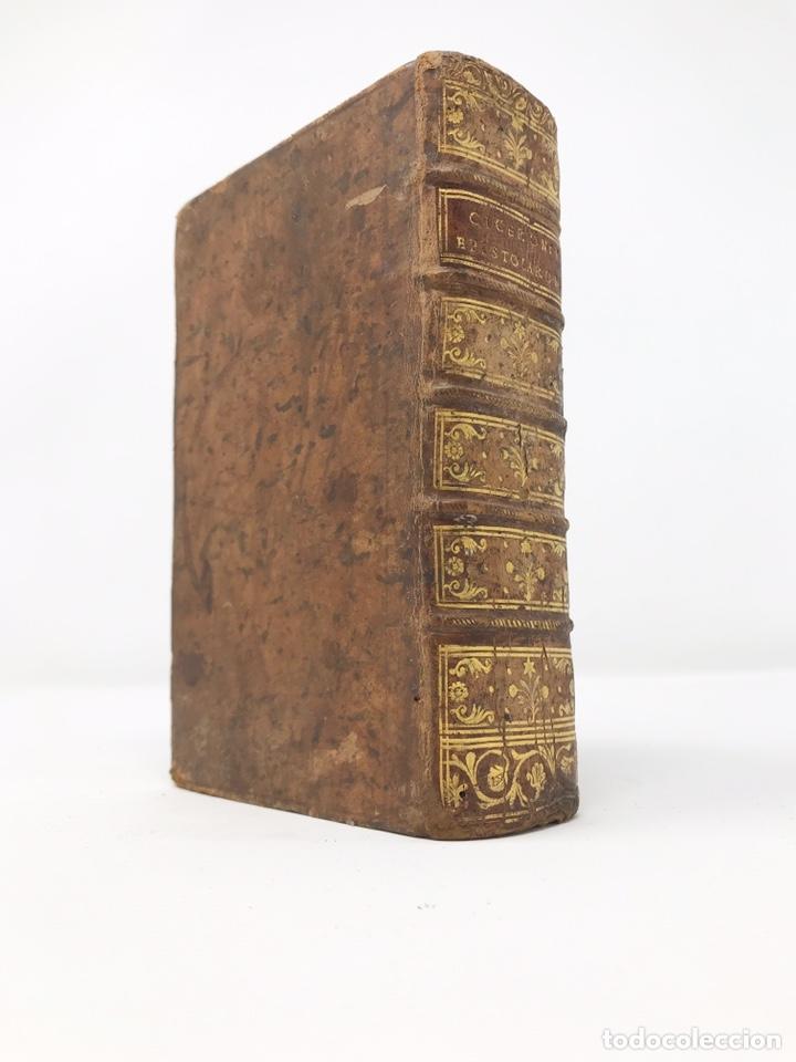 Libros antiguos: Ciceronis Epistolarum 1563, Siglo XVI, 17cmx11'5cmx5cm, 441 páginas, antiguo, excelente condición - Foto 31 - 176148134