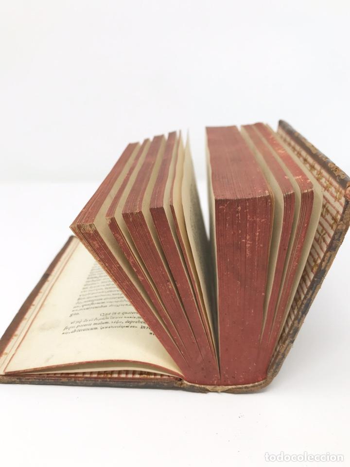 Libros antiguos: Ciceronis Epistolarum 1563, Siglo XVI, 17cmx11'5cmx5cm, 441 páginas, antiguo, excelente condición - Foto 33 - 176148134
