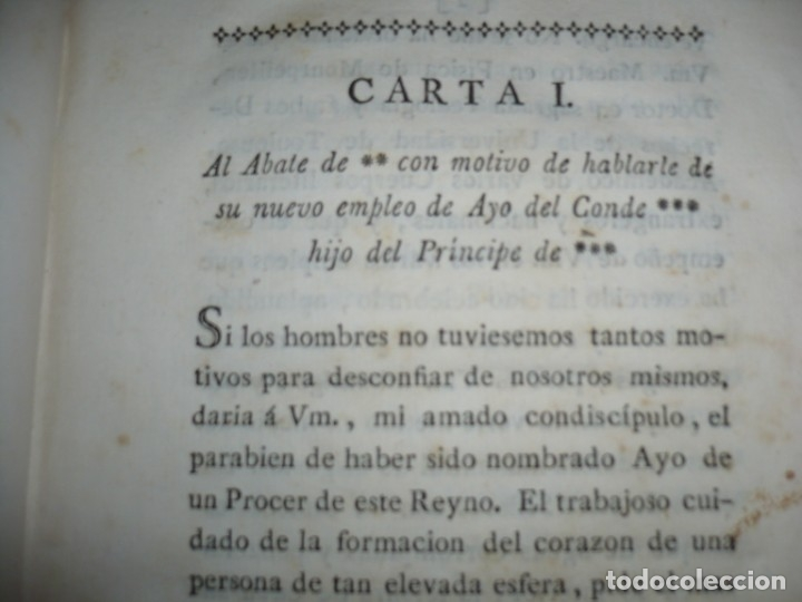 Libros antiguos: CARTAS CRITICAS DEL ABATE MATANEGUI JOSE ANTONIO MANEGAT 1793 MADRID - Foto 8 - 177328314