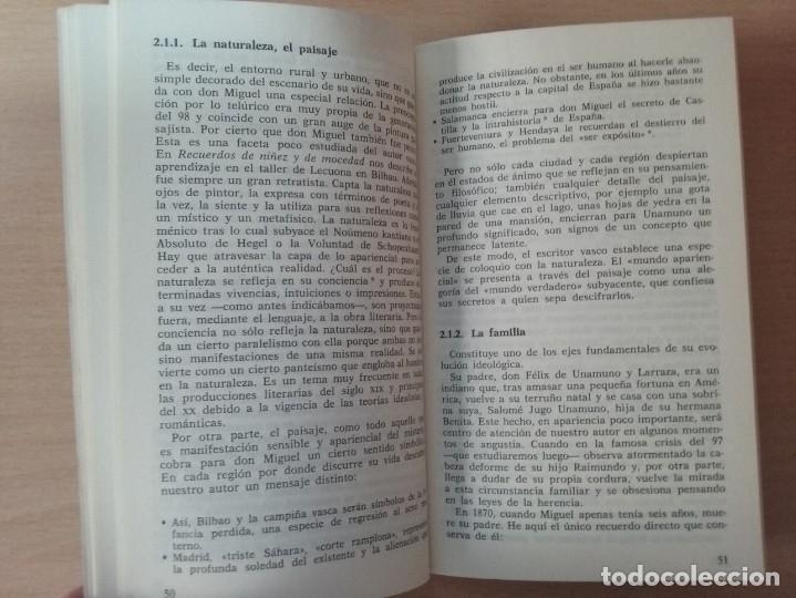 Libros antiguos: UNAMUNO, FILOSOFO DE ENCRUCIJADA - MANUEL PADILLA NOVOA (EDITORIAL CINCEL) - Foto 7 - 177495354