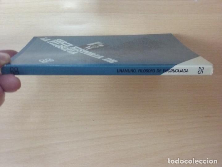 Libros antiguos: UNAMUNO, FILOSOFO DE ENCRUCIJADA - MANUEL PADILLA NOVOA (EDITORIAL CINCEL) - Foto 9 - 177495354