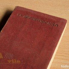 Libros antiguos: RÉFLEXIONS OU SENTENCES ET MAXIMES MORALES - LA ROCHEFOUCAULD - BIBLIOTHEQUE MINIATURE. Lote 178040612