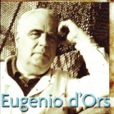 Libros antiguos: EUGENIO D'ORS. EL ARTE Y LA VIDA. GONZALEZ, ANTONINO. FI-243. Lote 178943778