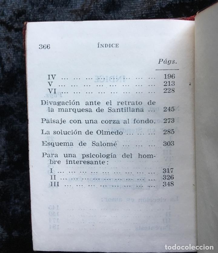 Libros antiguos: ESTUDIOS SOBRE EL AMOR - JOSÉ ORTEGA Y GASSET - CRISOLÍN 03 - VOLUMEN EXTRA - Foto 3 - 178987168