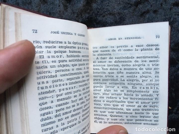 Libros antiguos: ESTUDIOS SOBRE EL AMOR - JOSÉ ORTEGA Y GASSET - CRISOLÍN 03 - VOLUMEN EXTRA - Foto 5 - 178987168