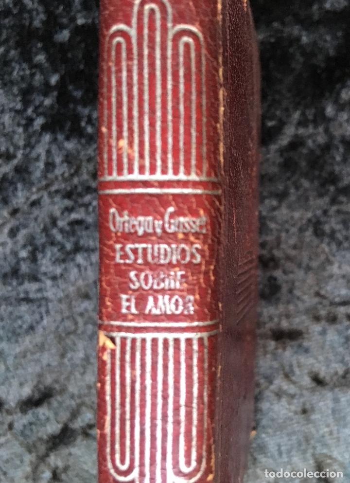 Libros antiguos: ESTUDIOS SOBRE EL AMOR - JOSÉ ORTEGA Y GASSET - CRISOLÍN 03 - VOLUMEN EXTRA - Foto 10 - 178987168