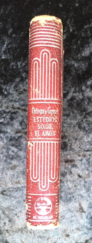Libros antiguos: ESTUDIOS SOBRE EL AMOR - JOSÉ ORTEGA Y GASSET - CRISOLÍN 03 - VOLUMEN EXTRA - Foto 11 - 178987168