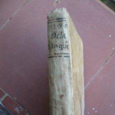 Libros antiguos: FILOSOFIA DE LA ELOQUENCIA POR ANTONIO DE CAPMANY, MADRID ANTONIO DE SANCHA 1777. Lote 180162102
