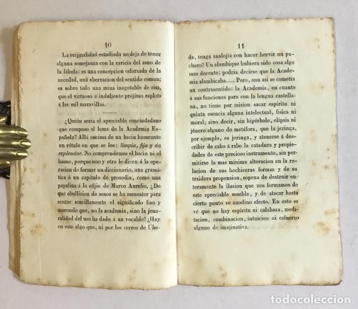 Libros antiguos: EL LIBRO VERDE Ó PENSAMIENTOS CRÍTICO-SÉRIO-BURLESCOS, SOBRE POLÍTICA, LITERATURA, COSTUMBRES... - Foto 3 - 180954545